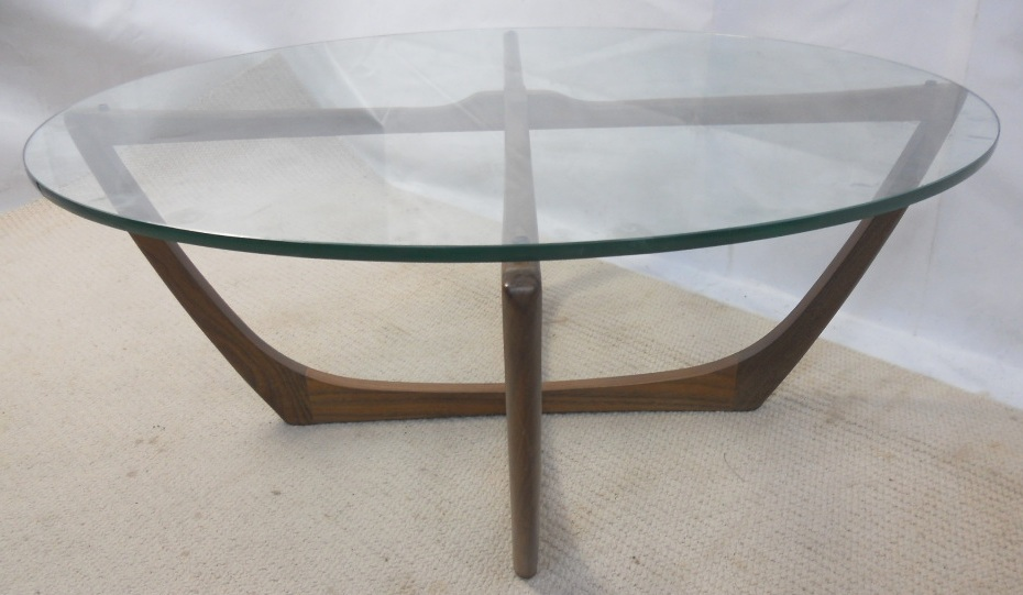 1960 s Circular Glass Top Coffee Table SOLD : 1960 s circular glass top coffee table sold 5 2225 p from www.harrisonantiquefurniture.co.uk size 930 x 541 jpeg 172kB